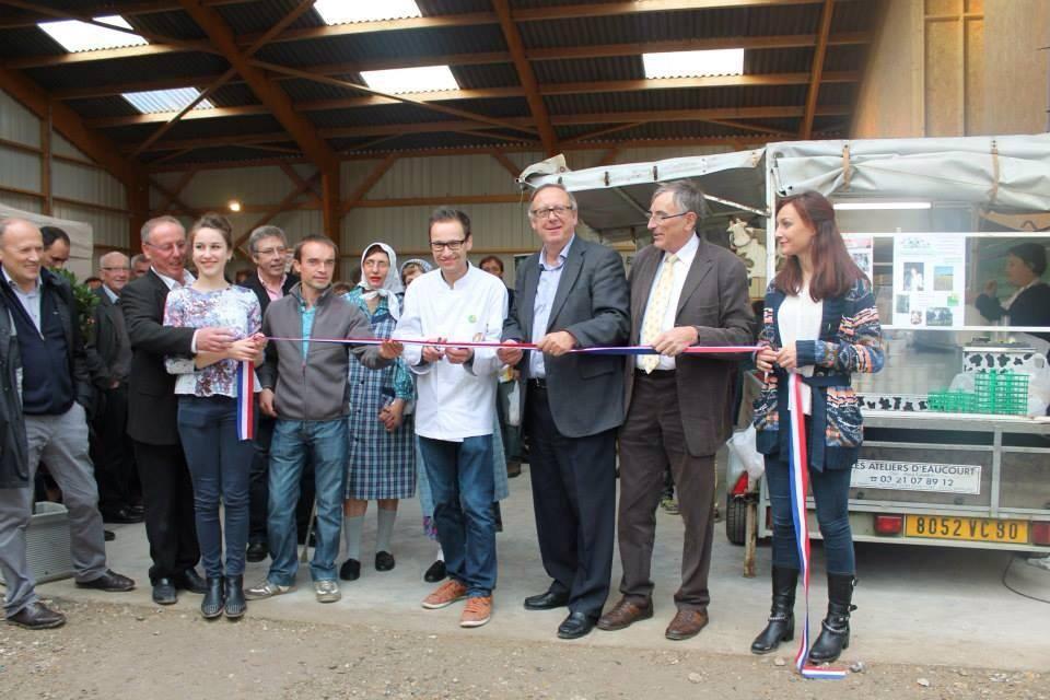 Inauguration de la ferme des Coudriers